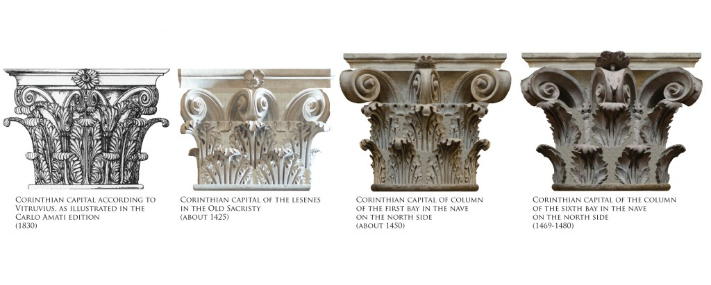 13 Starting From The Left Corinthian Capital According To Vitruvio Morolli 1988 One Old Sacristy By Brunelleschi Columns Of